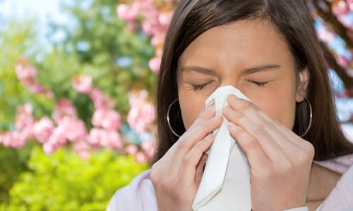 Аллергический ринит возникает как реакция на определенный раздражитель