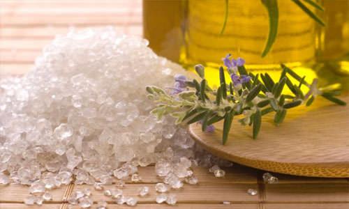 солевой пилинг
