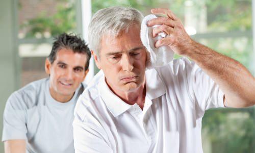 Симптомы при тепловом ударе