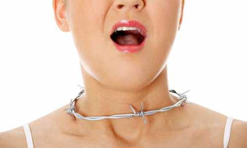 Не правильное лечение простой боли в горле может вызвать тонзилит