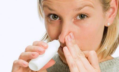 как снять отек слизистой носа