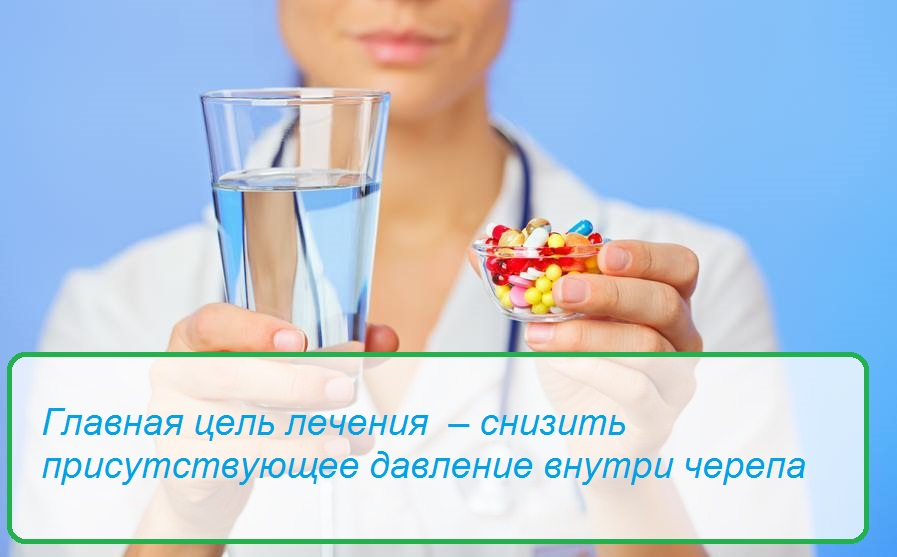 Как лечить внутричерепное давление медикаментами